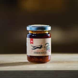 Peperoncini Pesto 130g Taschler im Glas