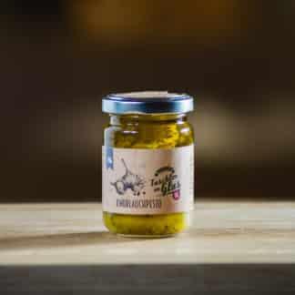 Knoblauch Pesto 130g Taschler im Glas