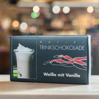 Zotter Trinkschokolade Weiße mit Vanille 5 x 110g