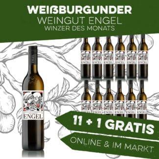 Weißburgunder 11+1 Weingut Engel