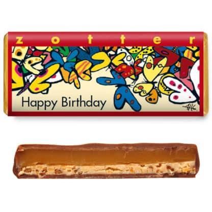 """Zotter """"Happy Birthday"""" 70g"""