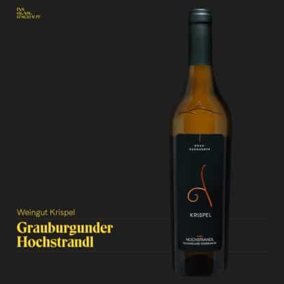Grauburgunder Hochstrandl 2018 Weingut Krispel