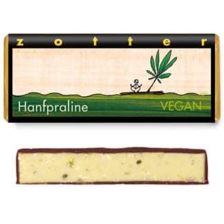 "Zotter ""Hanfpraline"" 70g vegan"