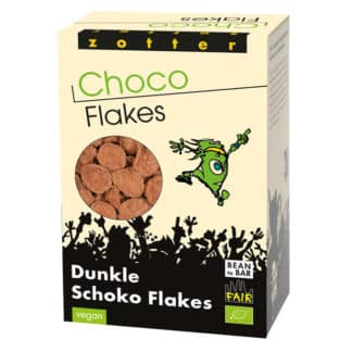Zotter Dunkle Schoko-Flakes 70g