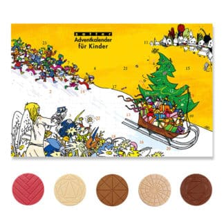 Zotter Adventkalender für Kinder